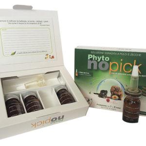 PHYTONOPICK FIALE <br> Soluzione oil-gel pulci e zecche
