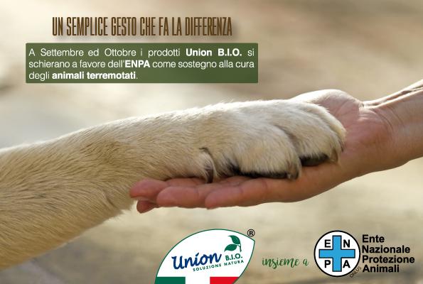 Union BIO insieme all'Ente Nazionale Protezione Animali