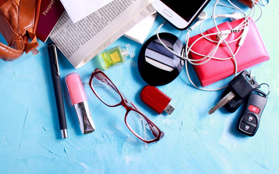 Igienizzare gli oggetti che usiamo quotidianamente
