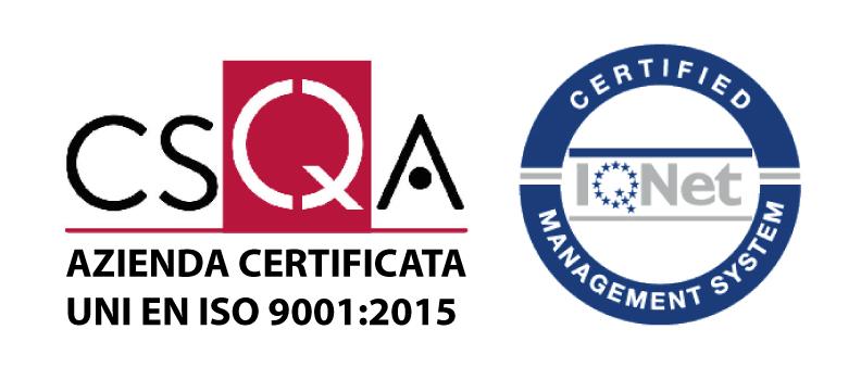 Union B.I.O. Srl è un'azienda certificata ISO 9001:2015
